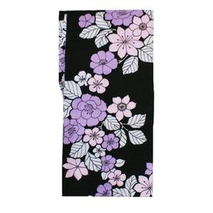 Japanese Yukata Kimono - Floral Black